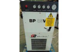 Belliss and Morcom BP35V High Pressure Breathing Air Compressor Unit