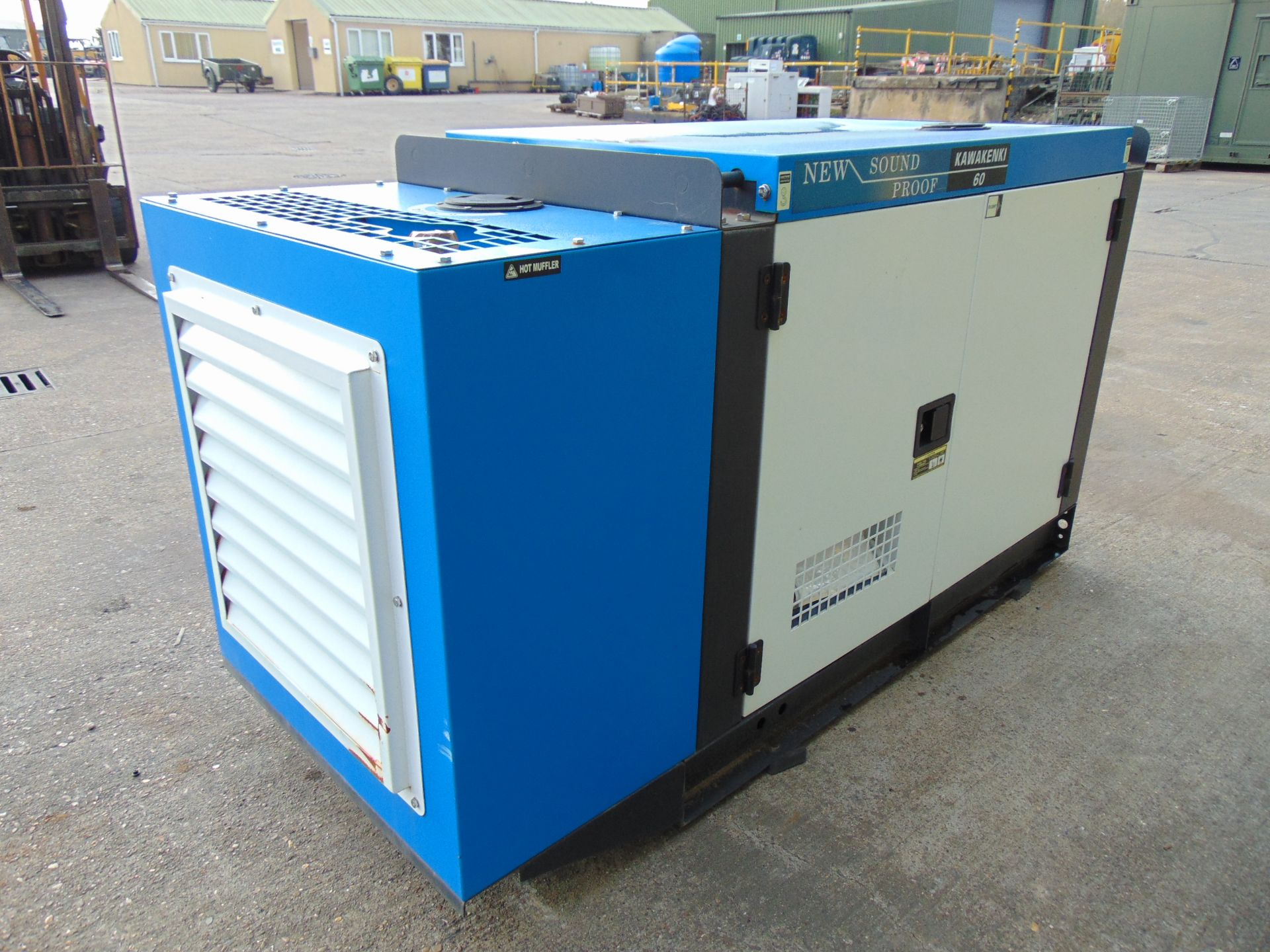 Lot 26 - UNISSUED 60 KVA 3 Phase Silent Diesel Generator Set