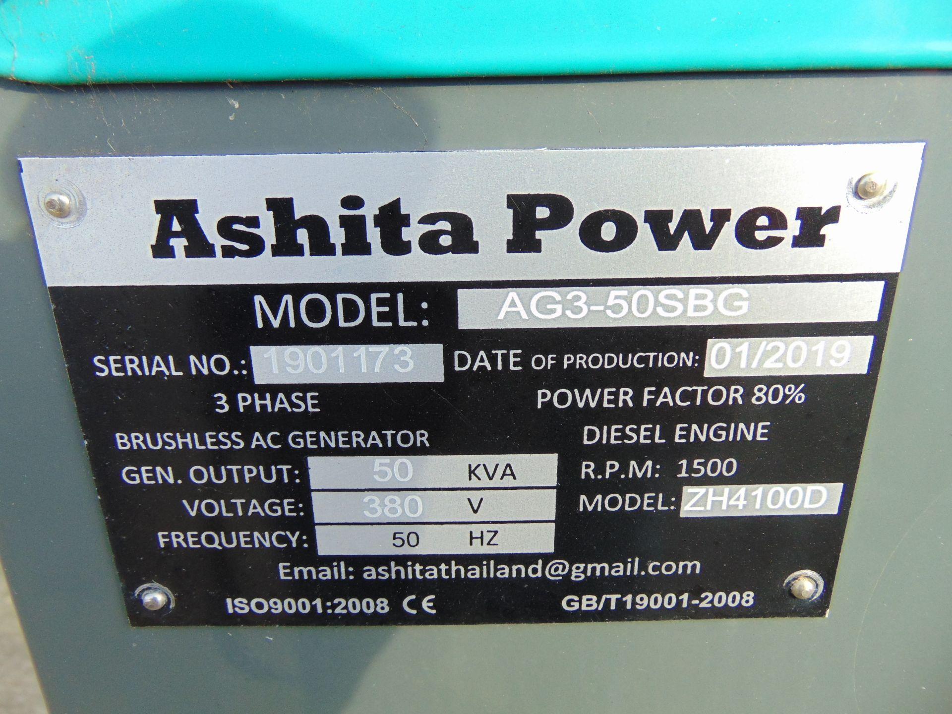 Lot 15 - UNISSUED 50 KVA 3 Phase Silent Diesel Generator Set