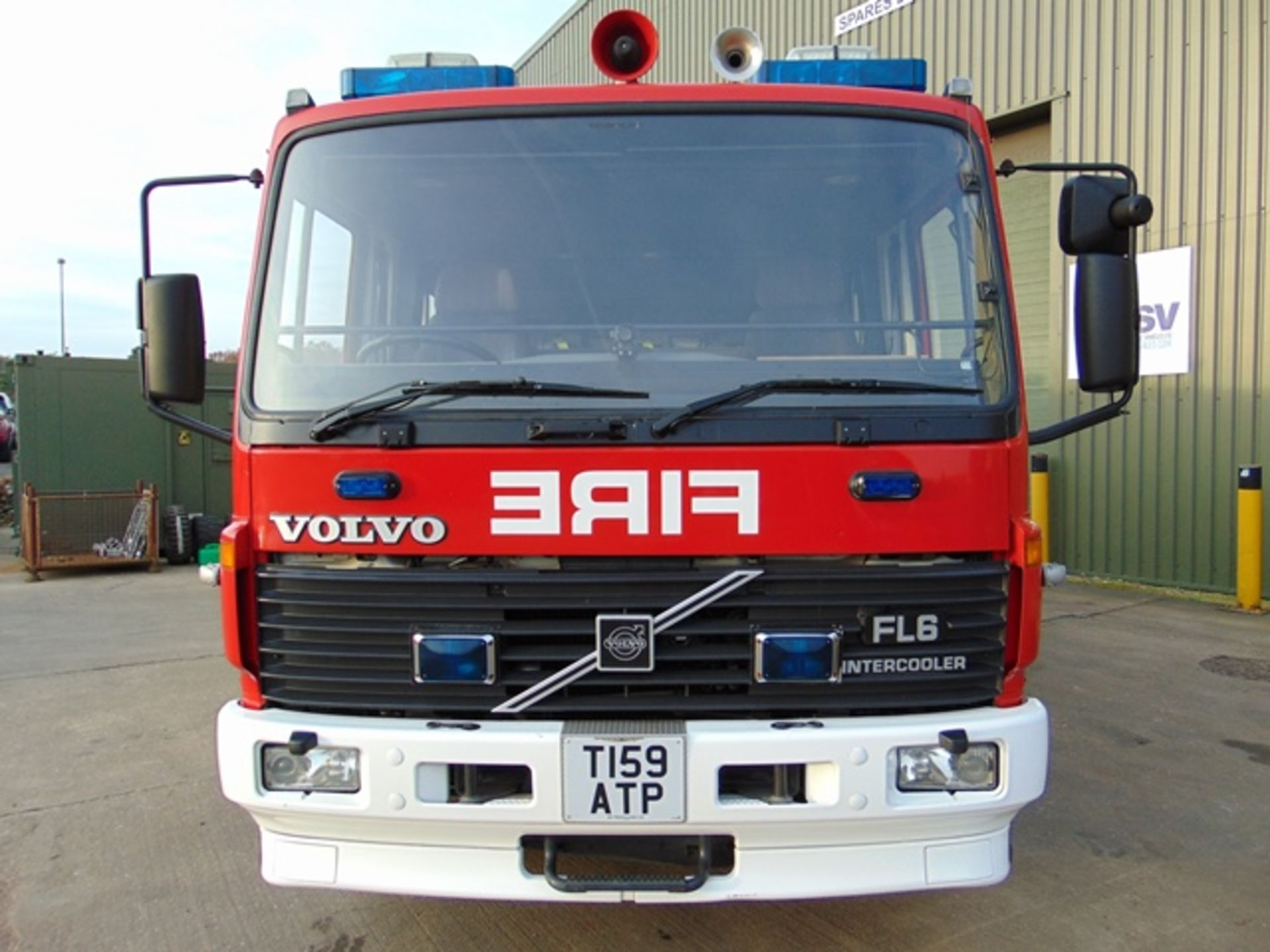 Lot 10 - Volvo FL6-14 Fire Engine ONLY 54,019 miles!