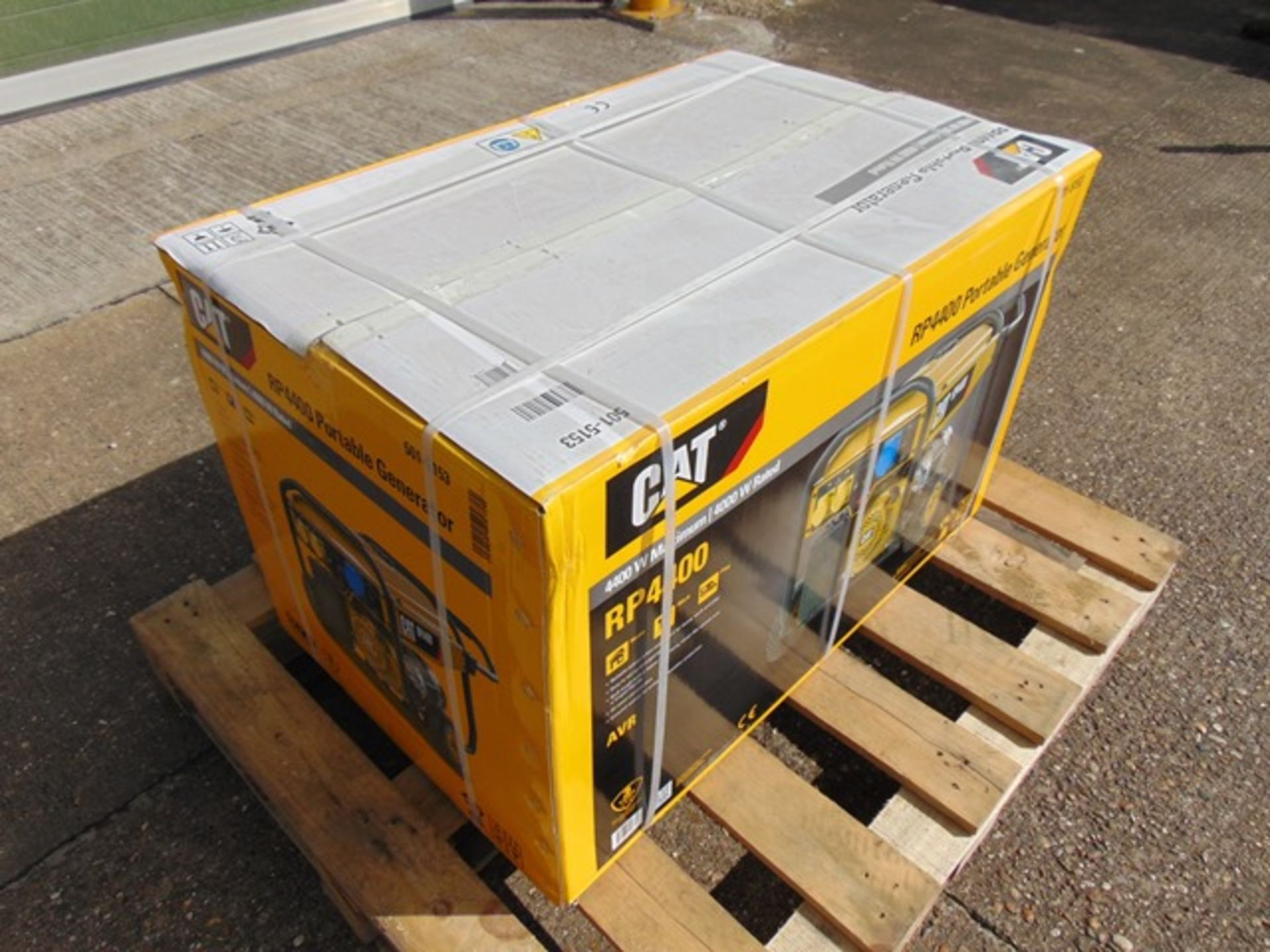 Lot 29 - UNISSUED Caterpillar RP4400 Industrial Petrol Generator Set