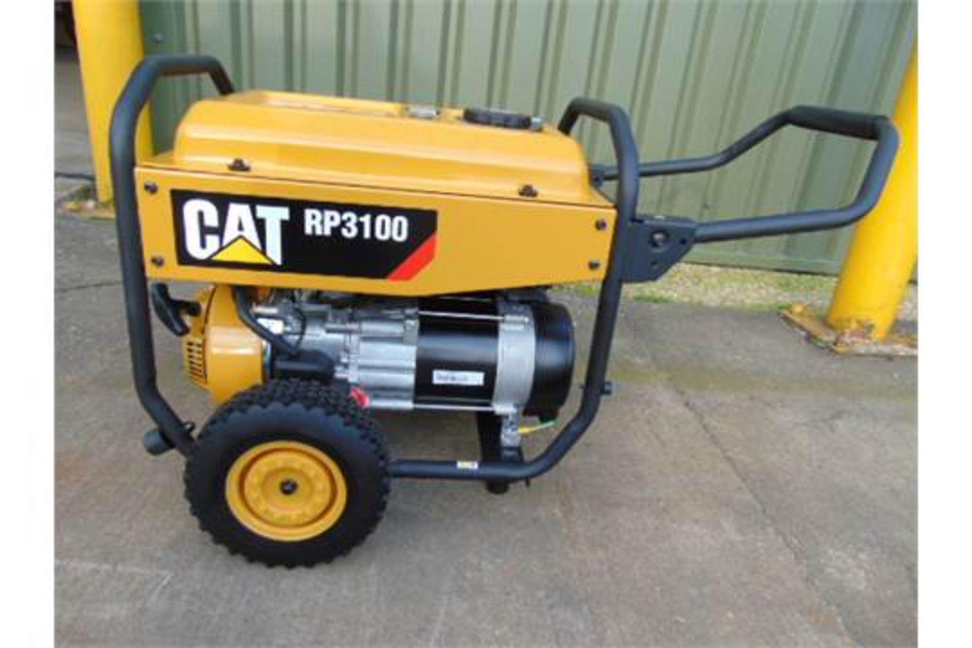 Lot 25 - UNISSUED Caterpillar RP3100 industrial Petrol Generator Set