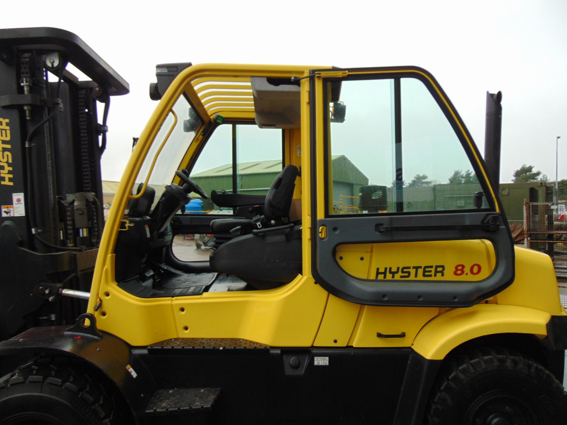 Lot 11 - 2015 Hyster H8.0 FT6 Forklift ONLY 234 HOURS!!!