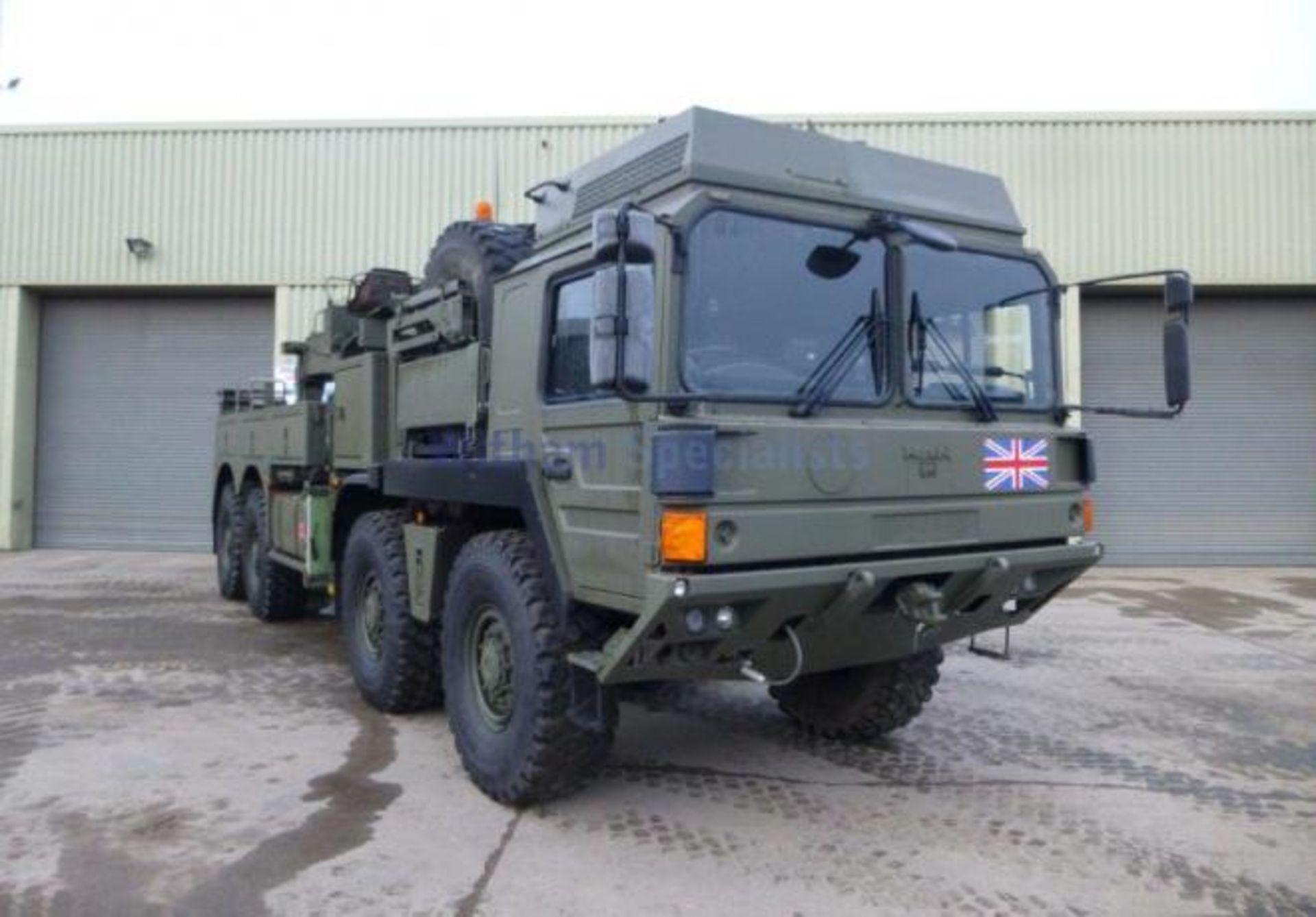 Lot 7 - MAN SX45 32.430 RHD 8x8 Recovery Truck ONLY 14,720km!