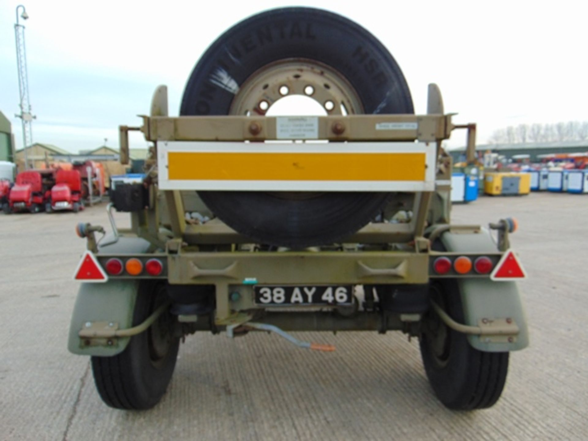 Lot 21 - RTS Trailmaster 355 Container Dolly Set System