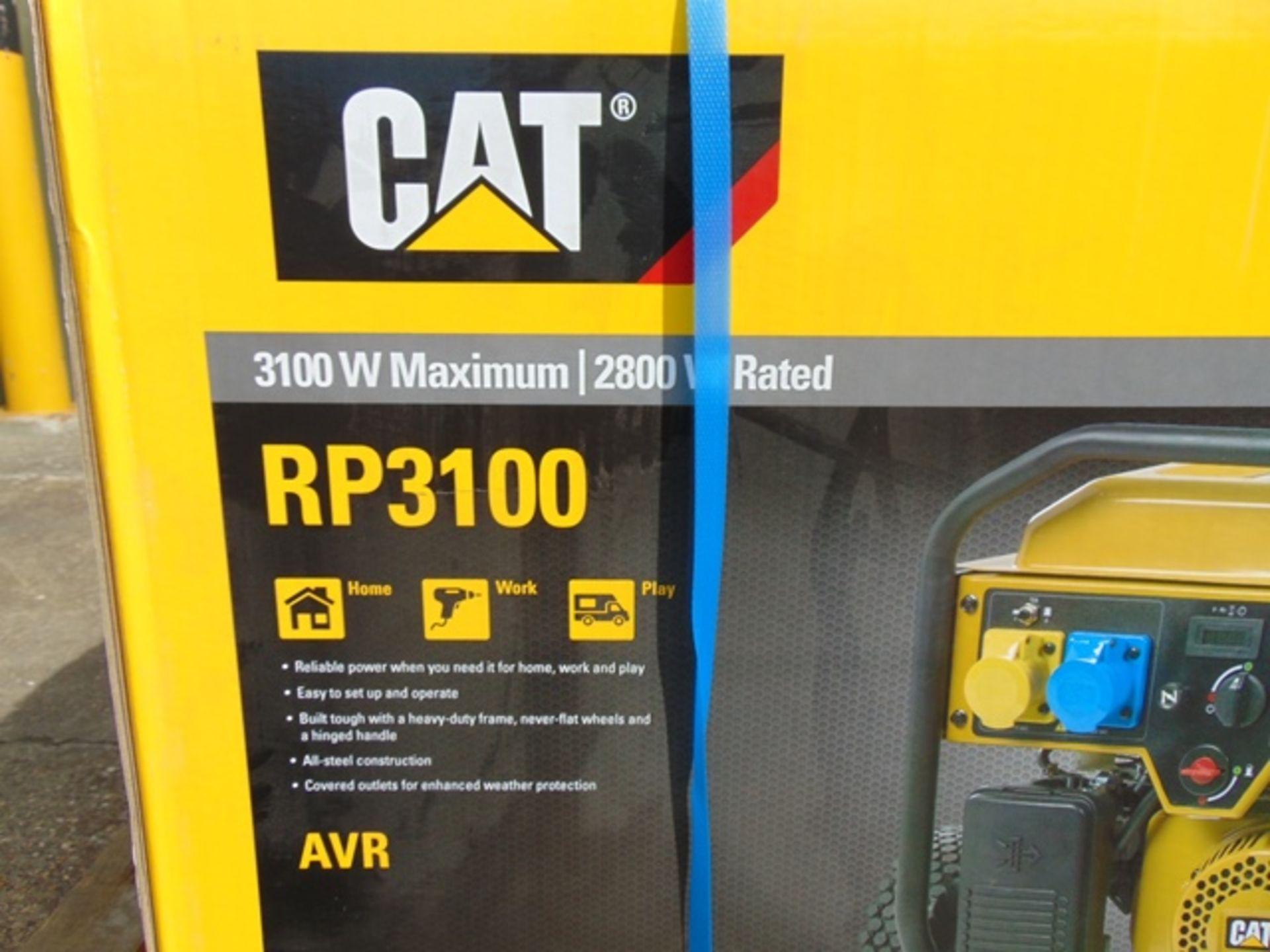 Lot 28 - UNISSUED Caterpillar RP3100 industrial Petrol Generator Set