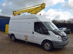 A FORD Transit T350L 100PS 2.4 Duratorq Diesel, RWD, High Roof Panel Van, Registration No. AJ59 VWA,