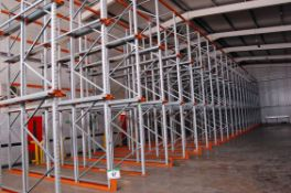 Twenty Three Bays APEX UK20 750Kg Rated 3-Tier Drive-In Pallet Racking with Approx. One Hundred