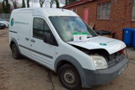 A FORD Transit Connect T200 L90 Diesel Panel Van, Registration No. FE57 RFK, First Registered: 05-