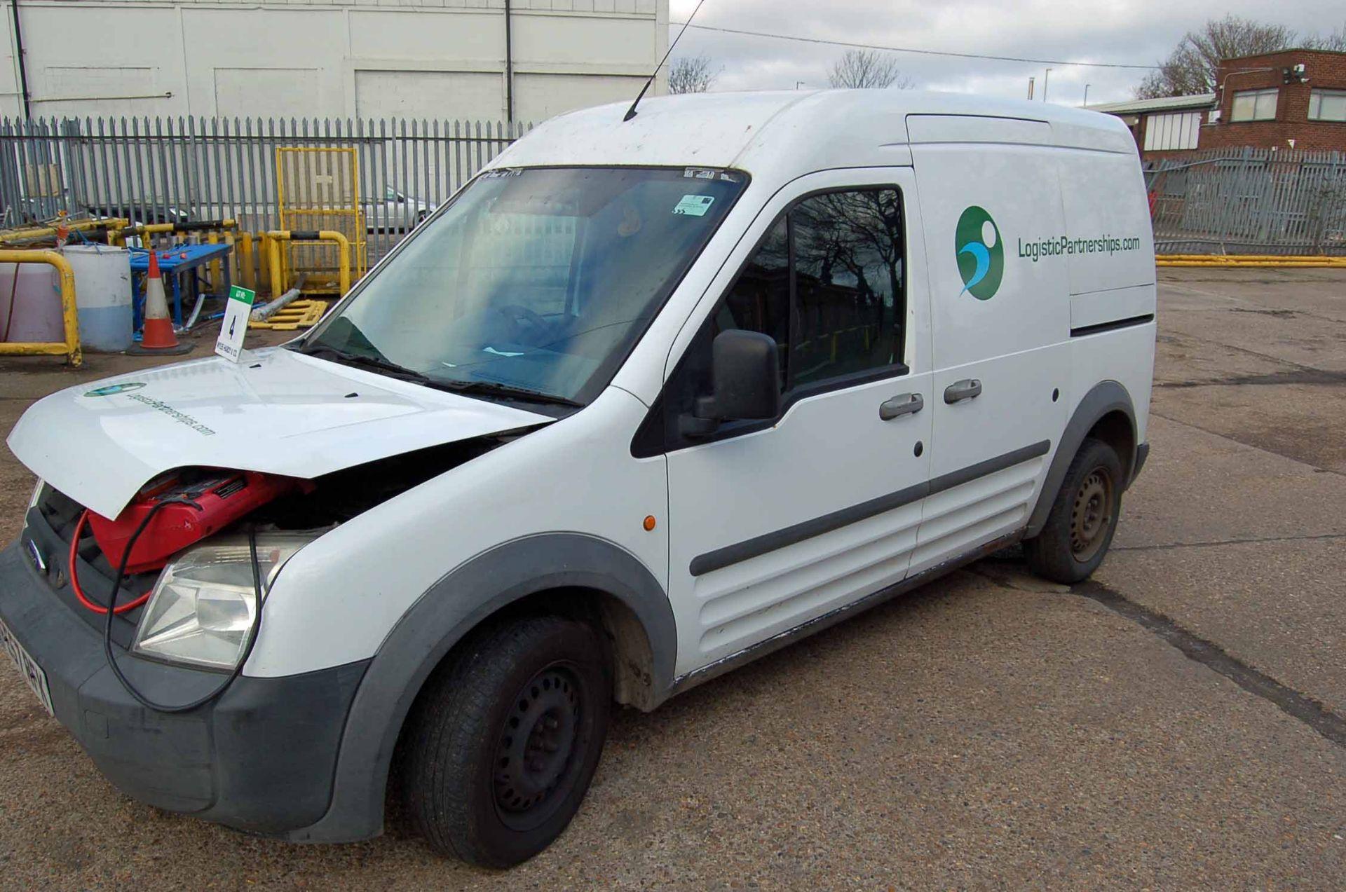 Lot 4 - A FORD Transit Connect T200 L90 Diesel Panel Van, Registration No. FE57 RFK, First Registered: 05-
