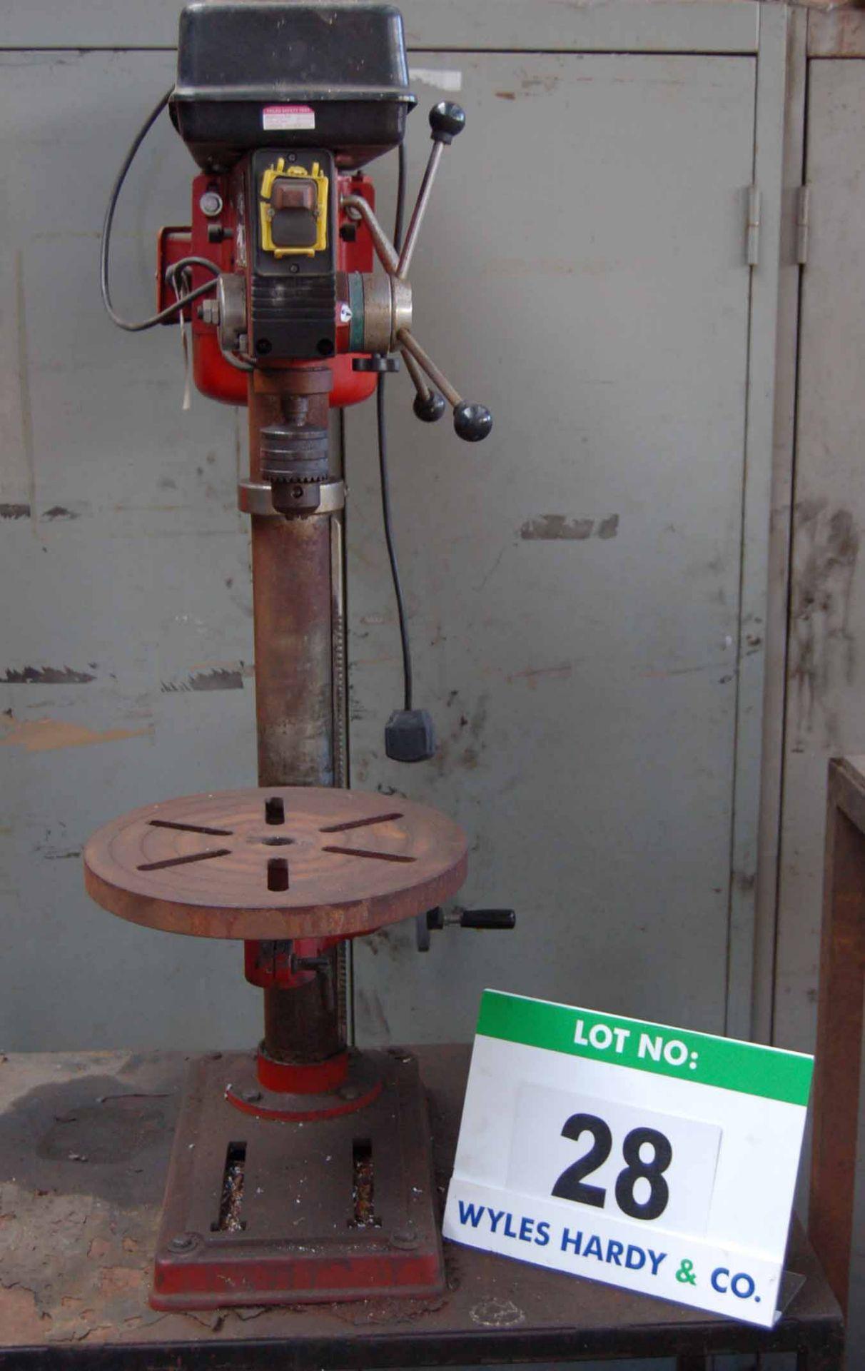 Lot 28 - A SEALEY GDM120BX 16-Speed Table Top Single Pedestal Pillar Drilling Machine, 16mm No. 2 MT Chuck