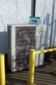 Three SEARLE GEA Twin Fan Ceiling mounted Freezer Evaporator Units (Unit 18) and A MITSUBISHI Twin