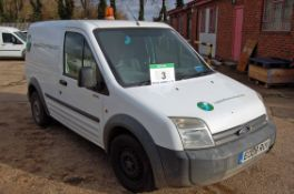 A FORD Transit Connect T200 L90, Diesel Panel Van, Registration No. EO08 RUV, First Registered: 31-