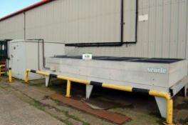 A COPELAND SCROLL/HUSSMANN Vario Containerised Freezer Refrigerant Compressor Unit with A SEARLE 8-