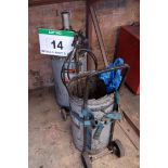 Lot 14 - Two Various Steel Drum Trolleys (each for 50Kg capacity Drum), with A Pneumatic Grease Delivery