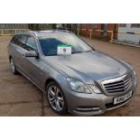 Lot 9 - A MERCEDES BENZ E250 Avantgarde 2.2 CDI Blue Efficiency 5-Door, Automatic, Diesel Estate Car,