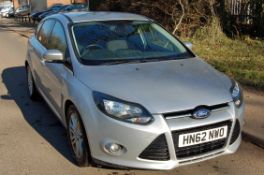 A FORD Focus Titanium 1.6 TDCI 115 Diesel Hatchback, Registration No. HN62 NWO (2012), First