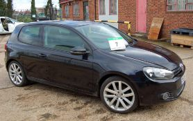 A VOLKSWAGEN Golf GT 2.0 TDi 140 3-Door, 6-Speed, Diesel, Manual Hatchback, Registration No. DE09