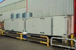 Two Triple Fan Chiller Condenser Units (THIS LOT IS USE RESERVED UNTIL JULY 2019, LIKELY TO BE MID