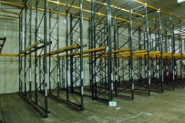 Twenty Bays LINK 51E 2-Tier Drive-In Pallet Racking with Approx. Fifty Five 5M Tall Uprights,