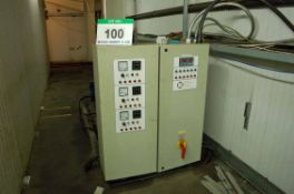 Six THERMACOLD Frascold V20 59 YPW Twin Cylinder Refrigerant Compressors with Two Control