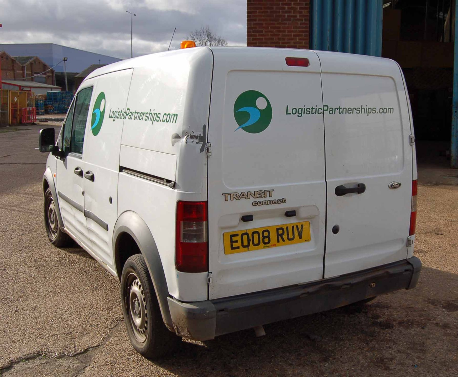 Lot 3 - A FORD Transit Connect T200 L90, Diesel Panel Van, Registration No. EO08 RUV, First Registered: 31-