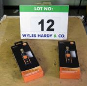 Two TESTO 549i Smart Probes (As Photographed)