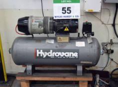 A HYDROVANE 15 Single Phase Rotary Screw Compressor (A Method Statement and Risk Assessment is