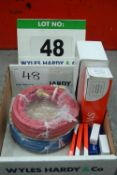 A Box of Unused Gas Welding Accessories (As Photographed)