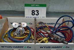 Two Boxes of Welding Accessories (As Photographed)