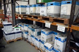 Seventy Five Boxes of Powder Coating Paint (As Photographed)