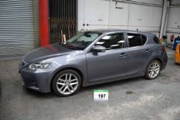 A LEXUS CT200h Hybrid 1.8 E-CVT Advance Petrol Hatchback with Variable 1 Speed Auto Transmission,