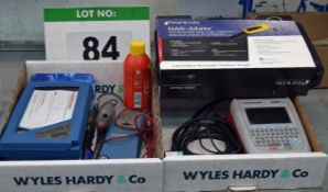 Two Boxes of Test Equipment including a SEAWARD Apollo 600 Pat Tester (As Photographed)