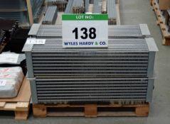 Four ECO RE53D 880mm x 200mm x 200mm Evaporator Coils