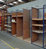 A 5M x 2.5M x 0.8M Welded Steel Parts/Stock Rack (As Photographed)