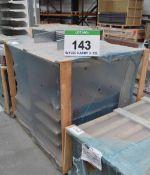 Fifteen LUVATA RE17D 600mm x 125mm x 150mm Evaporator Coils