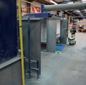 An Approx. 14M Double Sided Power Coating Paint Line with DRAVO Oven, Twin Powder Cyclone Filtration