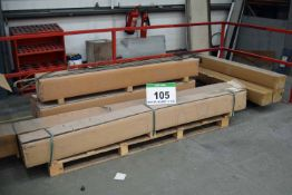 Three Pallets of Evaporating Heater Elements and Trim (As Photographed)