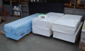 Three Pallets of Foam Insulation Panels (As Photographed)