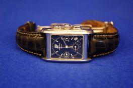AUDEMARS PIGUET Gentleman's 18ct White Gold Wrist Watch, Edward Piguet Chronograph E74633,