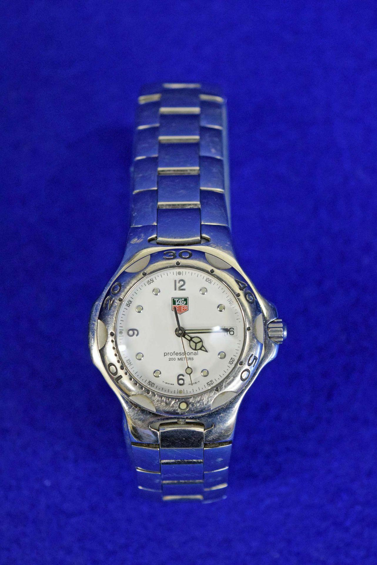 Lot 9 - A TAG HEUER 'Kirium WL1115 Professional' Stainless Steel Men's/Unisex Wrist Watch with Quartz