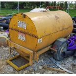 Lot 191 - A TRAILER ENGINEERING Single Axle Towed Bunded Fuel Bowser