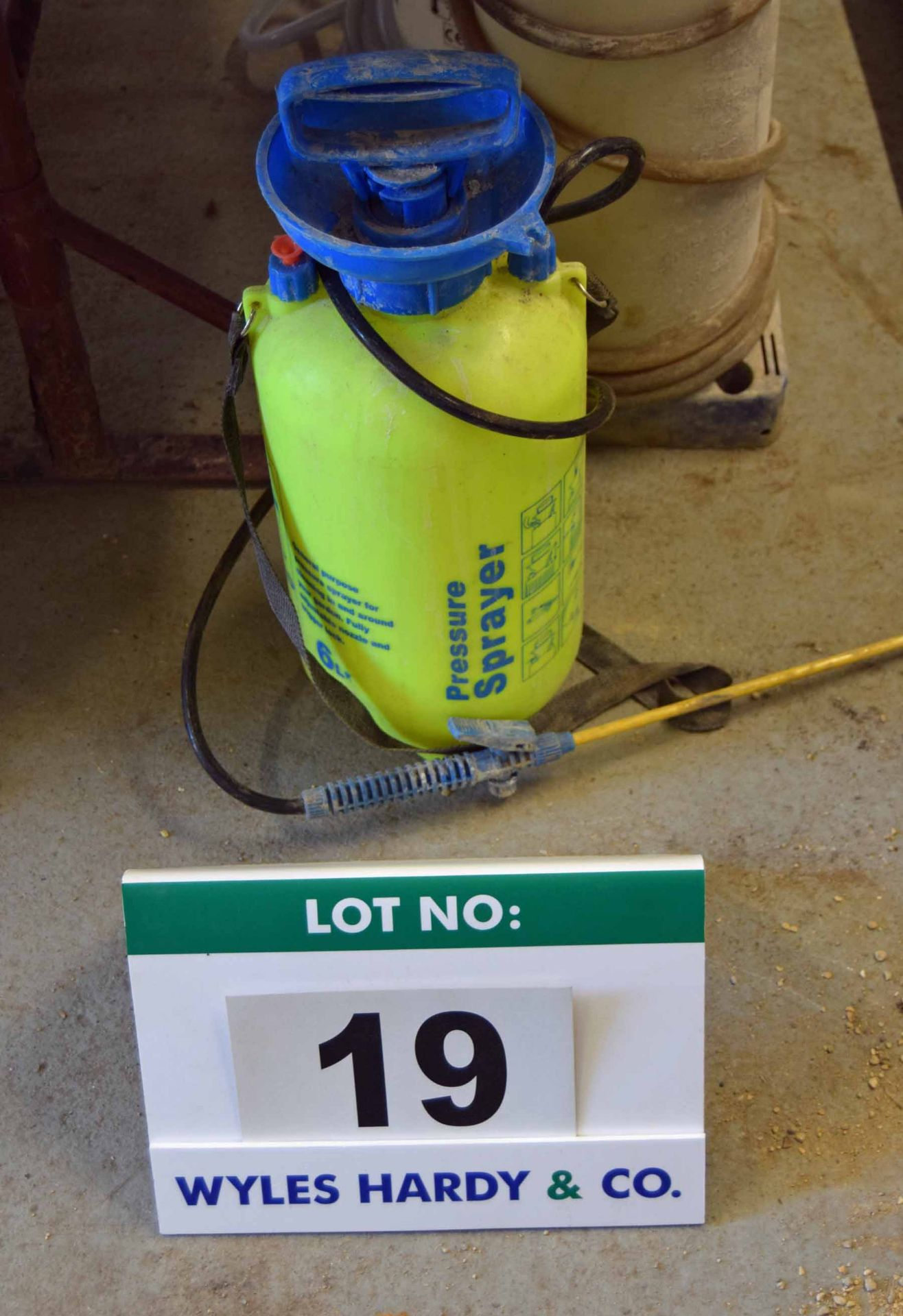 Lot 19 - A 6-Litre capacity Manual Pressure Sprayer