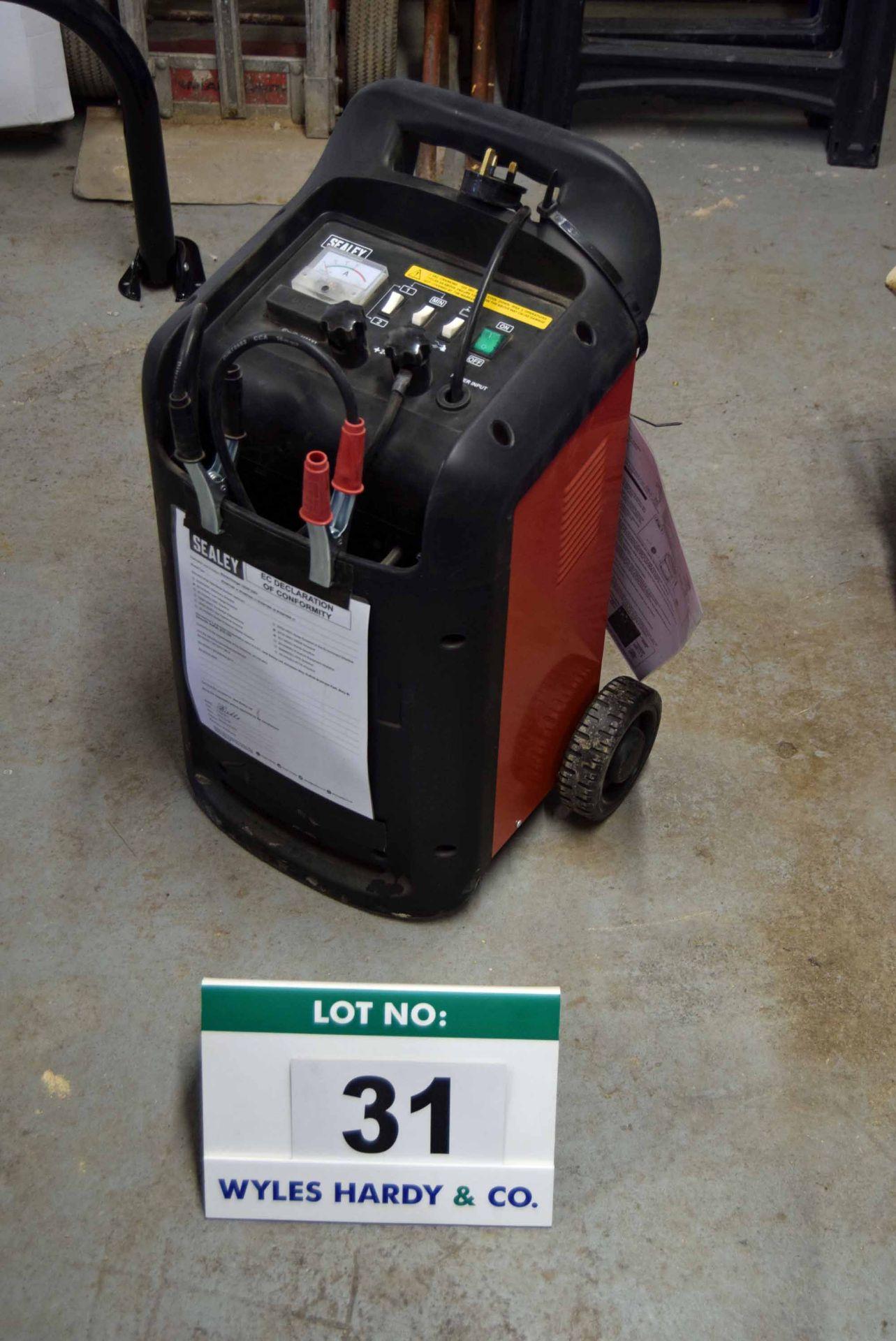 Lot 31 - A SEALEY Model START420 Portable 12V/24V Starter Charger