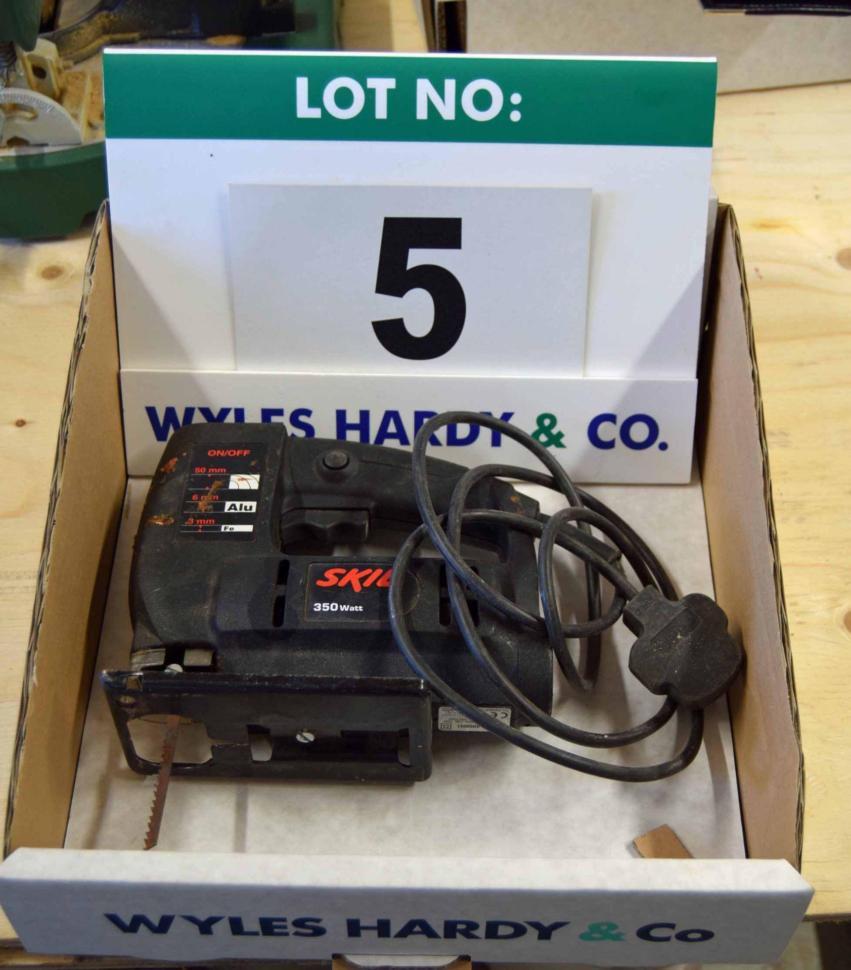Lot 5 - A SKILL 4000HI 240V AC Electric Jigsaw