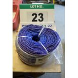 Lot 23 - A 220mm x 6mm Coil of Polypropylene Rope
