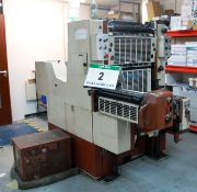 A FUJI Offset 52 520mm x 360mm (30.5 inch x 14 3/16 inch) Single Colour Lithographic Printing
