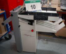 A MORGANA Junior Automatic Folding Machine, Type 90422, Serial No. 040143REFB