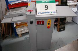 A MORGANA Digicrease Model 770820 Automatic Creaser, Serial No. 770125REFB