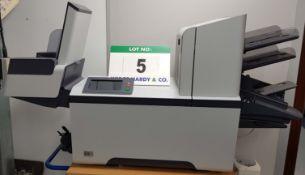 A FRANCOTYPE POSTALIA Fpi 4730 Automatic Benchtop Folder Inserter, Type A0071730, Serial No.